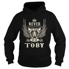 Cool TOBY TOBYYEAR TOBYBIRTHDAY TOBYHOODIE TOBYNAME TOBYHOODIES  TSHIRT FOR YOU T-Shirts