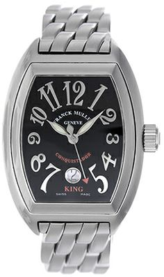 75db83adb05 Franck Muller King Conquistador Men s Stainless Steel Watch 8001 SC Fine  Watches