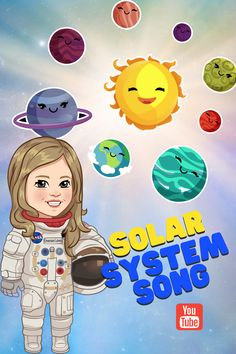 Solar System for Kids | Planets for Kids | Kids Animation | The Planet Song | Solar System Song