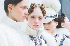 Moncler Gamme Rouge | Fall 2016 | Paris Fashion Week | Winter White