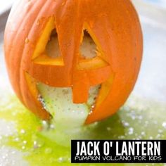 Make a Jack O'Lantern volcano with your kids! Looking for fun pumpkin themed art or craft projects to do with your kids this holiday season? Check out this list of fun pumpkin activities! Your kids will love all of these exciting projects and using them to decorate for halloween. Puking Pumpkin, Baked Pumpkin, Halloween Activities For Kids, Holiday Activities, Stem Activities, Holiday Crafts, Easy Science, Science Experiments, Science Ideas