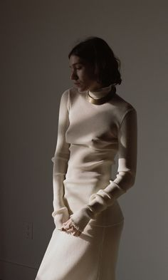 Zarina Nares by Zander Taketomo for Kinfolk Magazine - Lauren Manoogian Knitwear