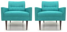 Pair of Cosmo Club Chairs by Atomic Chair CO! www.atomicchaircompany.com
