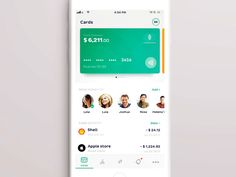 Hey folks, Over the last few months I've been working on a concept of redesign of the iOS app (Privatbank is the largest commercial bank in Ukraine). This is the first phase of a full app. Digital Wallet, Commercial Bank, Finance Bank, Tracking App, Card Balance, Mobile App Ui, Application Design, App Ui Design, Mobile Design