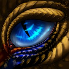 Explore the TwilightSaint collection - the favourite images chosen by Crimson-Dragon-King on DeviantArt. Magical Creatures, Fantasy Creatures, Dark Fantasy, Fantasy Art, Realistic Eye Drawing, Dragon Eye Drawing, Drawing Eyes, Dragon Heart, Blue Dragon