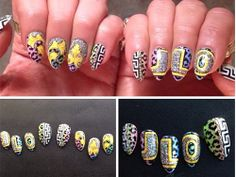 Celebrity nail art Twitter pictures and nail trends
