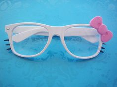 Hello Kitty Glasses. Yes, please.