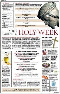 Holy Week Guide - Catholic