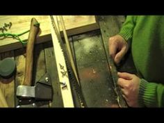 ▶ Making a Buck Saw, Pack Saw, 'Grub Saw' Ultra Light and Inexpensive - YouTube