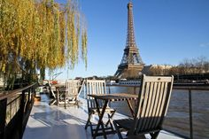 Charming Eiffel Tower Houseboat | Airbnb Mobile