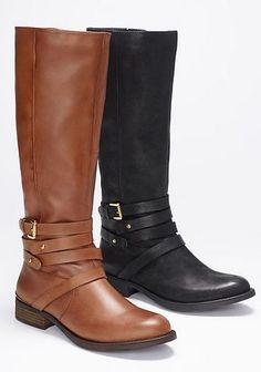 Classic riding boots. I'll take a pair in each color, please!