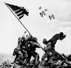 Darth Vader at Iwo Jima