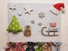 Tannenmotiv Höhe 20 cm 2 x Geschenkbeutel Winterland Polyester m Weihnachten