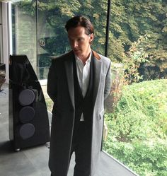Behind the Scenes with Benedict Cumberbatch - Benedict Cumberbatch Fall Style - Esquire