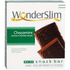 WonderSlim Protein Snack Bar ChocoMint