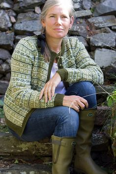 Ravelry: Seterkoften by Wenche Roald Fair Isle Knitting Patterns, Knit Vest, Pullover, Knitting Projects, Diy Clothes, Color Combinations, Knit Crochet, Sweaters For Women, Ravelry
