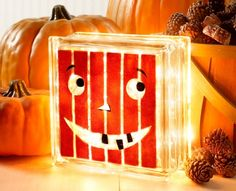Pumpkin #Glass #Block #kraftyblok