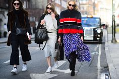 On the Streets of London Fashion Week Fall 2015 - London Fashion Week Fall 2015 Street Style Day 2