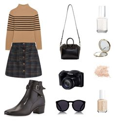 """Untitled #8"" by shakirajaim on Polyvore featuring Topshop Unique, Le Specs, Givenchy, Essie, Henri Bendel and Yves Saint Laurent"