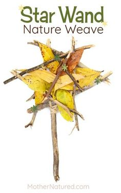 A Crafty Arab: 99 Creative Star Projects. Easy Christmas Star Craft Weaving for kids Forest School Activities, Nature Activities, Craft Activities, Indoor Activities, Preschool Ideas, Summer Activities, Preschool Crafts, Family Activities, Autumn Crafts