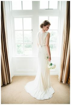 Stunning Jenny Packham Esme Dress | Woodlands Hotel Wedding Leeds | www.clare-robinson.co.uk
