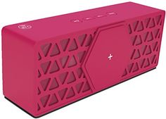 Cheap TecPlus Geo Bluetooth Compact Wireless Portable and Rechargeable Speaker 10 Hours Playtime Powerful 15 W Sound Compatible with Android/iOS Smartphones and Tablet - Pink Best Selling