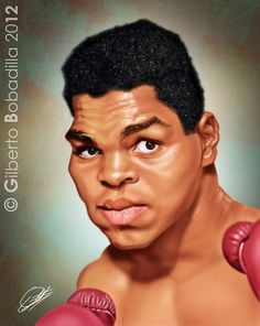 Caricatura de Muhammad Ali FOLLOW THIS BOARD FOR GREAT CARICATURES OR ANY OF OUR OTHER CARICATURE BOARDS. WE HAVE A FEW SEPERATED BY THINGS LIKE ACTORS, MUSICIANS, POLITICS. SPORTS AND MORE...CHECK 'EM OUT!! Anthony Contorno Sr