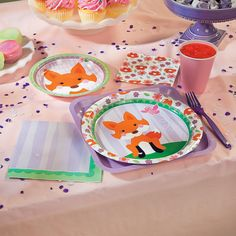 Lil Fox Party Supplies - OrientalTrading.com