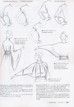 Guid to Fashion Design by Bunka fashion coollege (Japan)/ sleeves - vma.Creating a container water garden is one of many cool ways to beat the summer heat. These plants need sun, but they don't require soil because they get their nutrients from water Fashion Terminology, Fashion Terms, Techniques Couture, Sewing Techniques, Fashion Design Drawings, Fashion Sketches, Sewing Sleeves, Look Retro, Fashion Dictionary