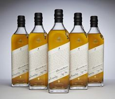 Exclusive Alcohol Blends - These exclusive alcohol blends by Johnnie Walker are extremely rare as there are only 504 bottles of this prestigious scotch made. The company crea...