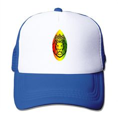 Unisex Rasta Lion Surfing Board Rasta Good Vibes Adjustable Mesh Hat  Trucker Baseball Cap. Rasta Lion Surfing Board Rasta Baseball Caps  Adjustable Snapback ... 8ad526273f29