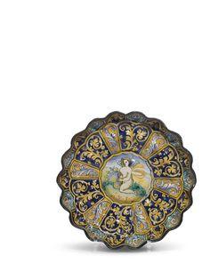 A Faenza crespina, circa 1560