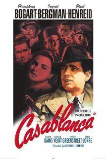 Casablanca movie poster [Humphrey Bogart/Ingrid Bergman] X Old Movie Posters, Classic Movie Posters, Classic Movies, Film Posters, Art Posters, Original Movie Posters, Humphrey Bogart, Old Movies, Vintage Movies