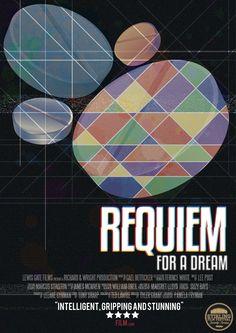 Alt Poster Requiem for a Dream Requiem For A Dream, Richard Wright, Film Movie, Movies, Minimal Movie Posters, Artworks, Alternative, Tattoo, Posters