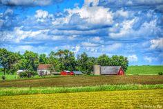 Farm...Hwy 23 in Minnesota...photo by Cyn...June 15'2014