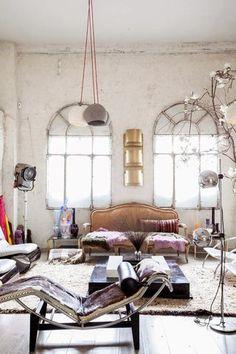 Eclectic studio in Madrid