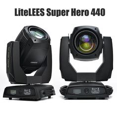 LiteLEES Super Hero 440 Osram 20R 440W Auto-focus art net.etc #mythos #claypakymythos #lightingtech #lightingtechnician