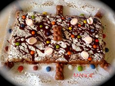 Artemangie: BROWNIE DE CHOCOLATE- COCINA-POSTRES