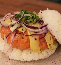 Hambúrguer de Sushi