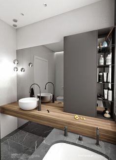 Stylish Modern Bathroom Idea 37
