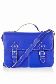 Add a splash of color to your outfit - go for electric blue accessories!