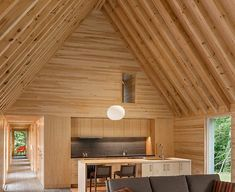 Modern Marlboro Cottages use natural and locally sourced materials in Vermont   Inhabitat - Green Design, Innovation, Architecture, Green Building