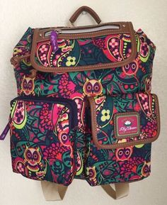 LILY BLOOM Owl-Ilver Twist Riley Backpack Women Multi-color #LilyBloom #Backpack