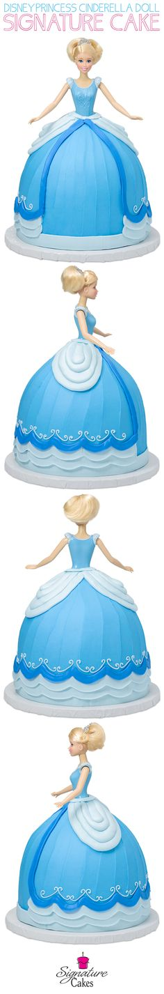Learn how to make DecoPac's Disney Princess Cinderella Doll Signature Cake