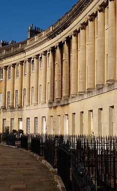The Royal Crescent, Bath by beautifulbath