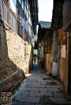 """Ancient Streets of Huanglongxi"" - Sichuan Province, #China"