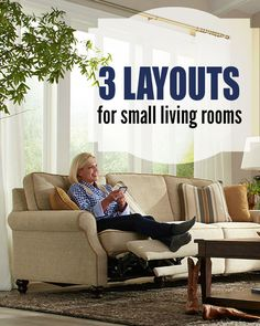 Just because you have a small living room doesn't mean it has to feel boxed in or confining. Making the most of your tight quarters is all about designing the perfect layout. Try these tips!
