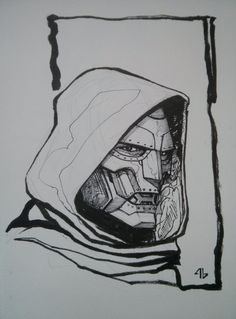 Dr Doom by Adi Granov Comic Art