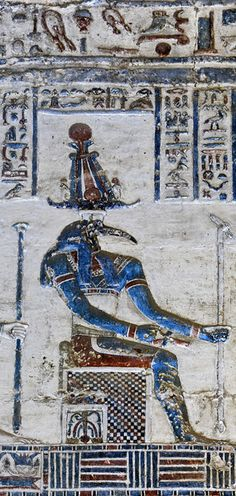 'Thoth in Dendera.'