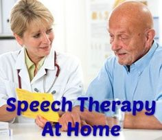 Speech Therapy at Home Care Advantage Blog